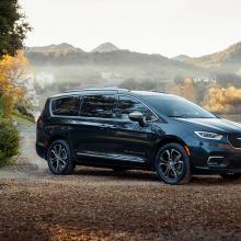 2021 Chrysler Pacifica получает престижную награду за лучший новый семейный автомобиль!