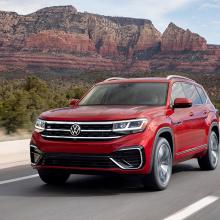 VW Atlas остается лучшим семейным внедорожником!
