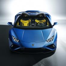 Lamborghini выпускает заднеприводный Huracan EVO Spider