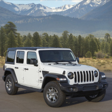 Jeep стремиться к более ''зеленому'' будущему