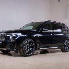 Полная оклейка кузова BMW X7