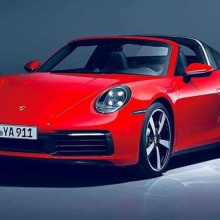 Новый 2021 Porsche 911 Targa 4