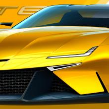 Вот как мог бы выглядеть C9 Corvette