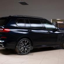 Тонировка задней полусферы BMW X7