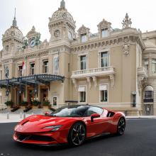 Ferrari Raucous SF90 Stradale разбудил Монако!