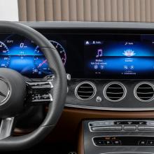 Новый руль Mercedes - чудо высоких технологий!
