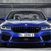 2021 BMW M5 Facelift - новый супер-седан