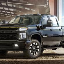 Chevrolet представляет четыре новых специальных издания Silverado HD