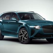 Новый Bentley Bentayga будет выглядеть невероятно