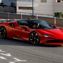 Рандеву с Ferrari SF90 Stradale
