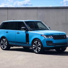 Range Rover отмечает 50-летие со специальным выпуском Range Rover Fifty