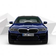 Первый взгляд на 2021 BMW M5 без пакета Competition