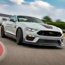 У Ford есть еще один секрет о Mustang Mach 1