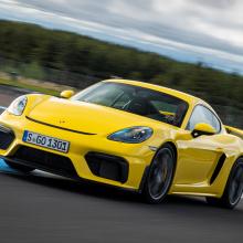Так звучит Porsche 718 GT4