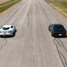 Дрэг баттл - C8 Corvette против Dodge Demon