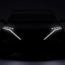 Nissan показывает электро-кар Nissan в видео тизере