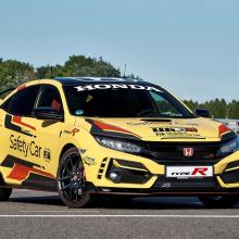 Honda Civic Type R Limited Edition становится официальным автомобилем безопасности