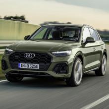 Audi Q5 Facelift обновление популярного внедорожника