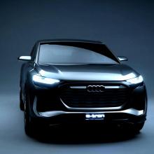Audi показал стильный концепт Q4 Sportback e-tron