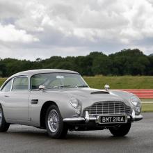 Ностальгический Aston Martin DB5 Джеймса Бонда готов