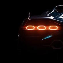Тизер новой модели Lamborghini