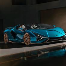 Дикий родстер Lamborghini Sian уже распродан!