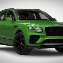 Конфигуратор Bentley Bentayga предлагает несколько диких комбинаций
