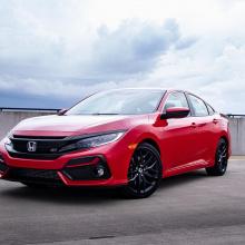 Honda Civic сохраняет механическую коробку передач