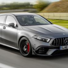 10 спортивных автомобилей с V8 медленнее, чем A45 S AMG