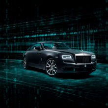Rolls-Royce выпустит 50 Kryptos Collection Wraith