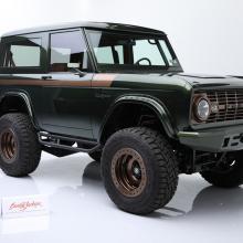 Кастомный Ford Bronco первого поколения продаются за очень большие деньги