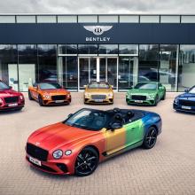 Bentley Continental GT Convertible получает новый красочный вид