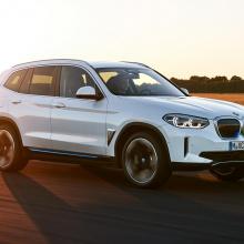 BMW iX3 - полный электрический BMW X3