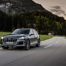 Audi расширяет предложения внедорожников с бензиновыми SQ7, SQ8