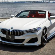 Кабриолет BMW 8 серии получает карбоновый пакет