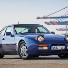 Porsche показывает отреставрированный 944
