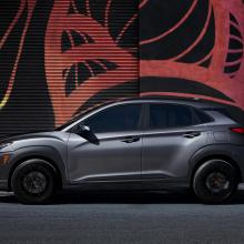 Hyundai представляет новый лимитированный выпуск Kona Night Edition