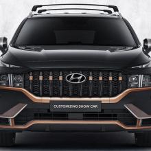 Hyundai Santa Fe с пакетом N Performance выглядит фантастически