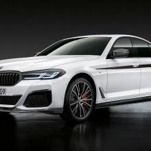 2021 BMW M5 и 5 серия получает детали M Performance
