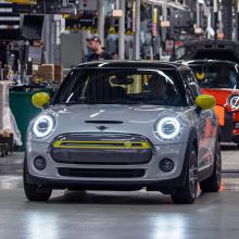 Mini уже построил более 11 000 электромобилей