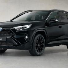 Встречайте Toyota RAV4 Hybrid Black Edition
