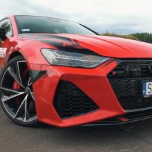 Посмотрите, как Audi 900 л.с. RS7 уничтожит дрэг-полосу