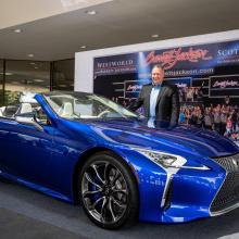 Кто-то заплатил 2 млн долларов за кабриолет 2021 Lexus LC 500