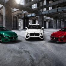 Maserati Ghibli Trofeo и Quattroporte Trofeo - суперседаны мощностью 580 л.с.