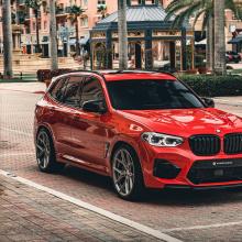 Sterckenn предлагают передний сплиттер для BMW X3 M