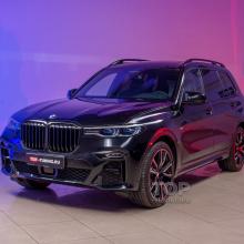 Полная защита кузова BMW X7 бронепленкой STEK Platinum