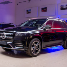 Профессиональная защита кузова Mercedes-Benz GLS