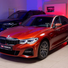 Замена решетки радиатора на BMW 3 g20