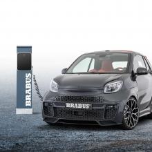 Brabus представляет городской спортивный автомобиль Ultimate-E