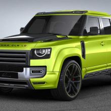 Удивите своих друзей этим шокирующим Land Rover Defender